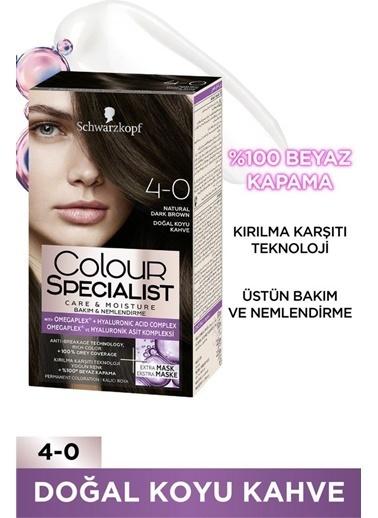 Colour Specialist Colour Specialist Doğal   4.0 Saç Boyası Kahve